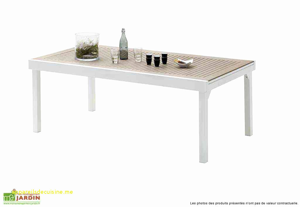 Table basse industrielle blanche