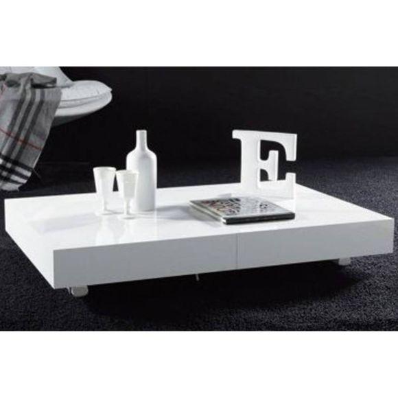 Table basse extensible relevable design