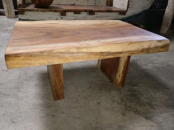 Table basse bois de suar