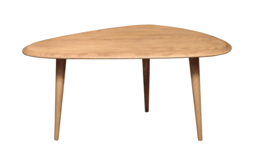Table basse scandinave bleu ciel