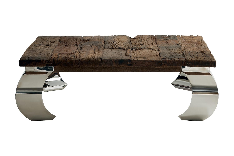 Table basse en bois massif pas cher