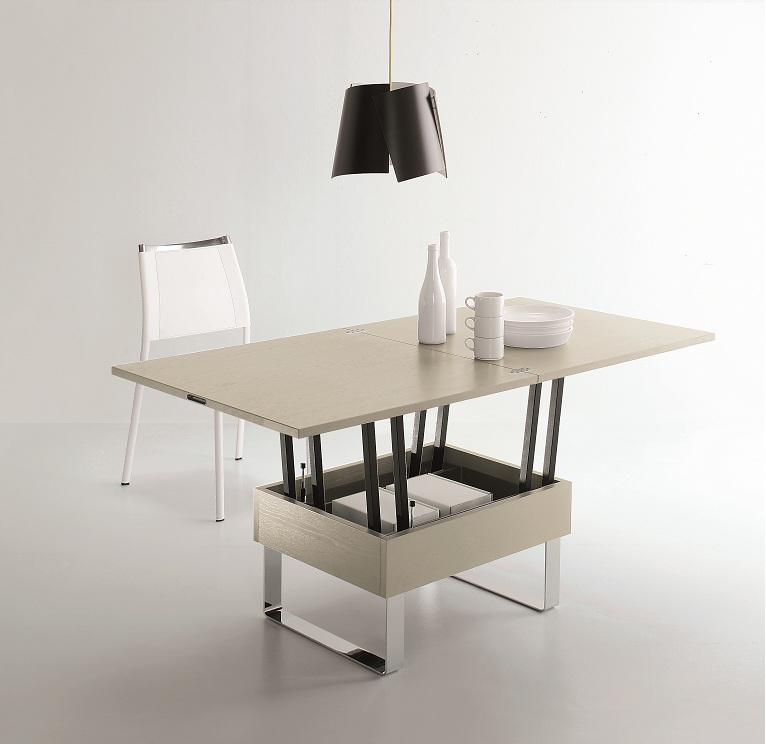 Solde table basse relevable extensible