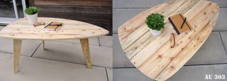 Faire soi meme table basse scandinave