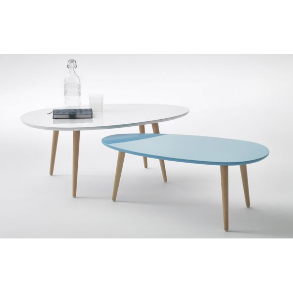 Table basse scandinave non laquée