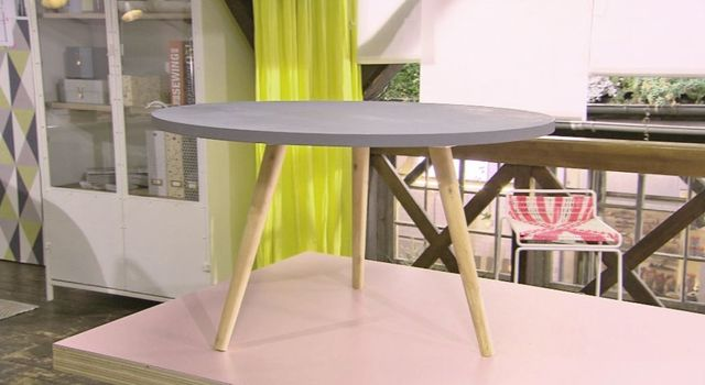Creer une table basse scandinave