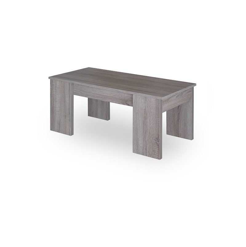 Table basse relevable 120 x 60