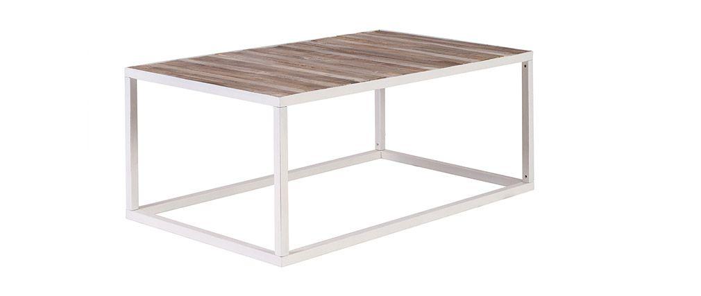 Table basse bois 100x60