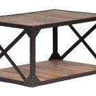 Table basse bois miliboo