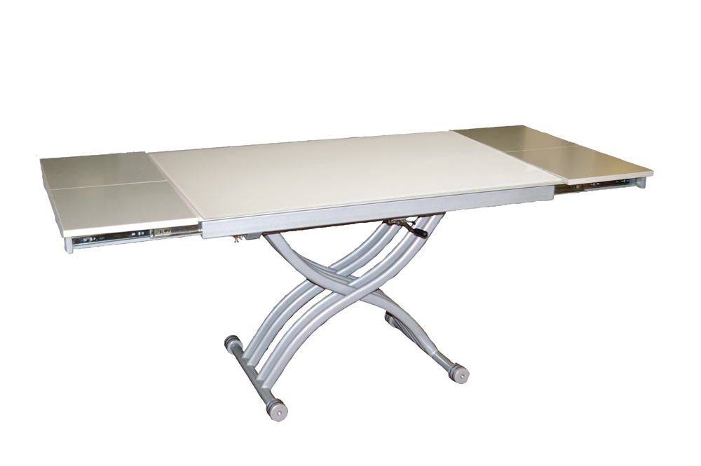 Table verre basse relevable